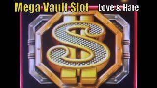 •LOVE & HATE•MEGA VAULT Slot machine (IGT) Live Play & Super Big Win Bonuses•彡Barona Casino 栗スロット