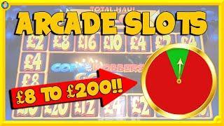 Arcade Slots with Reel King Multiplier, Cops n Robbers, Temple of Osiris & More!