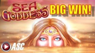 *BIG WIN* SEA GODDESS | BALLY - LOCKING HOT ZONES Slot Machine Bonus Win