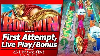 Road To Win Slot - NEW Slot, Live Play, Random Features and Free Spins bonuses