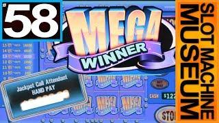 MEGA WINNER (Bally) - JACKPOT & BIG WINS  - GRANDFATHER OF LIGHTNING LINK [Slot Museum]~Slot Review