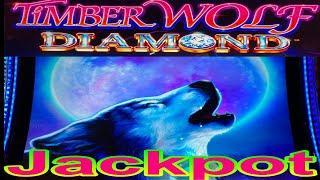 ⋆ Slots ⋆YAY ! JACKPOT ON THE MAX BET !!⋆ Slots ⋆TIMBER WOLF DIAMOND Slot ⋆ Slots ⋆$225 Free Play $7.00 Max Bet⋆ Slots ⋆栗スロ