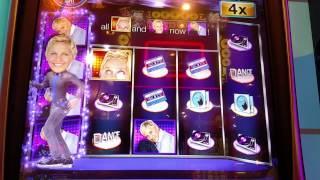 IGT Ellens Dance Party Bonus slot machine