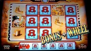 Bonus&Wheel Super Monopoly Money 5c -  WMS Slots
