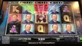 Jackpot Of Over 4 Thousand Dollars! | Black Widow Game | 7 Free Games Awarded