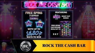 Rock the Cash Bar slot by Northern Lights Gaming