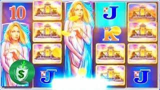 Princess Andromeda 95% slot machine, 2 DBG sessions