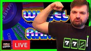 Lets try this again! Ladder Betting Method on Wheel O Rama Slot Machine With SDGuy1234