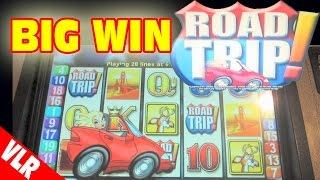 Road Trip - SUPER BIG WIN - Classic Slot Machine Bonus