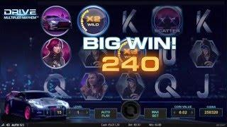 NETENT Netent Drive Multiplier Mayhem Slot REVIEW Featuring Big Wins With FREE Coins