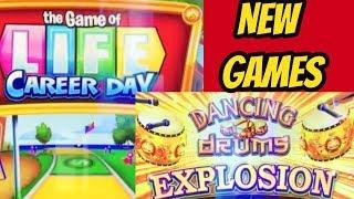 NEW DANCING DRUMS GAME & GAME OF LIFE CAREER DAY