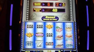 Stars and Bars QuickHit Slot Machine Bonus Win (queenslots)