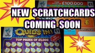 New Scratchcards coming out.& look at the Jackpots that are left in cards(We keep the Videos coming