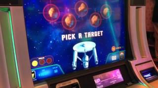 Star Trek Enterprise Crystal Capture Bonus @ 50 Cent Bet