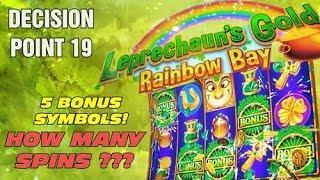 Leprechaun's Gold: Rainbow Bay - Reel Decision Point 19 - 5 BONUS SYMBOLS !