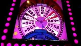 Super Jackpot Wheel!. slot machine NICE BONUS WIN....