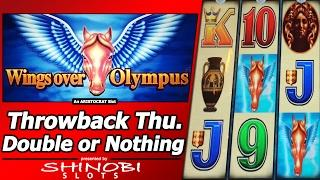 Wings Over Olympus Slot - TBT Double or Nothing, Nickel denomination
