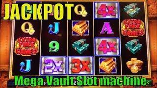 •JACKPOT !! MEGA VAULT•Thanks A Lot ! Awesome Run ! Mega Vault Slot machine (IGT) Hand Pay•彡Barona 栗