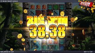 Tahiti Gold Slot - Big Base Game Win!