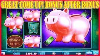 • GREAT COME UP! • • PIGGY BANKIN LOCK IT LINK • HIGH LIMIT SLOT MACHINE