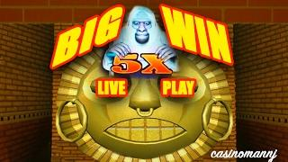 **BIG WIN** - MYSTICAL RUINS 10X RE-SPINS - MAX BET! -  *LIVE PLAY* Slot Machine Bonus