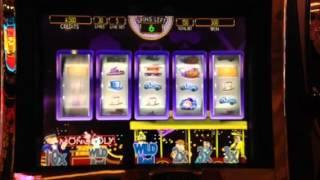 Monopoly Jackpot Station - Party Train - Slot Machine Bonus Palazzo Casino Las Vegas