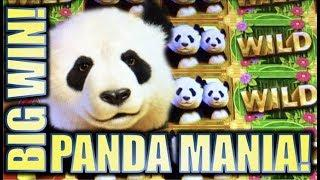 •SUPER PANDA BIG WIN! • PANDA DOUBLE HAPPINESS (Aristocrat) Slot Machine Bonus