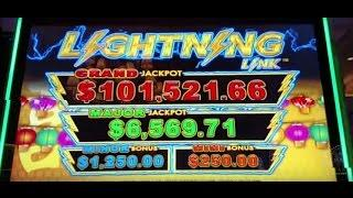 25c denom HIGH LIMIT BIG WIN! Aristocrat Lightning Link Bonus Slot machine pokie