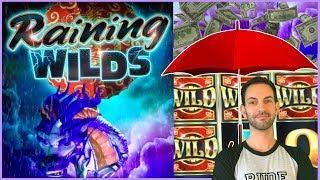 • It's Raining BONUSES • • High Limit CATS + Gold Bonanza ++Slot Machine Pokies w Brian Christopher