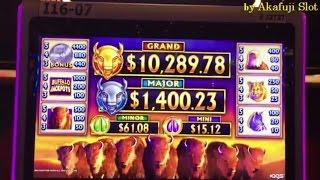 "March 26 Part 1 ""Nice Start""•Stampede Power Buffalo Jackpot Slot Bet $3.52 New Slot Barona Casino"