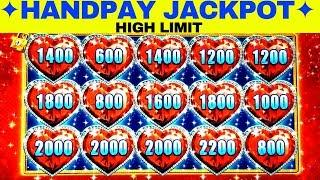 •BIG HANDPAY JACKPOT• High Limit Lock It Link Slot Machine •FULL SCREEN• HANDPAY JACKPOT w/$20 Bet