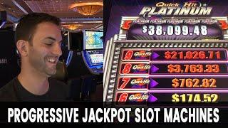 • LIVE $500 Slots Play • Progressive Jackpot Machines with Brian Christopher #Ad