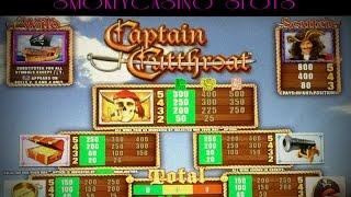 Captain Cutthroat Slot Machine Bonus Win