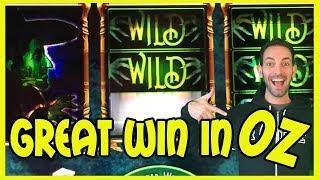• Great WIN in OZ • • WIZ + Wonder 4 Tall Fortunes • Slot Machine Pokies w Brian Christopher