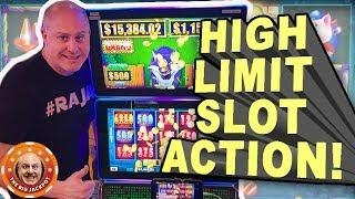 • High Limit Slot Action from The Lodge Casino! •