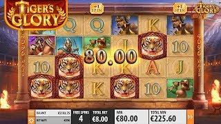 Tiger's Glory Online Slot from Quickspin