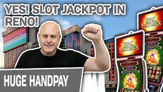 ⋆ Slots ⋆ SLOT MACHINE JACKPOT in Reno ⋆ Slots ⋆ EPIC Fortunes Brings EPIC Good Time