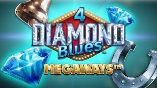 4 Diamond Blues Megways Online Slot Promo