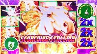 • Scorching Stallion slot machine, Big Win Bonus