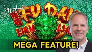 Fu Dai Lian Lian Dragon Slot - NICE SESSION + MEGA FEATURE!