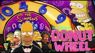 •FIRST TRY• SIMPSONS slot machine LIVE PLAY BONUS WINS!