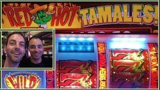 • Red Hot Tamales with • MARCO • Heating up the Casino • Slots at Cosmopolitan, Las Vegas Casino