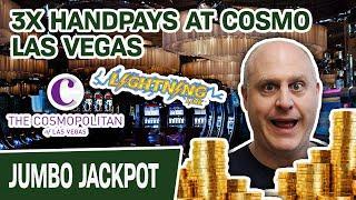⋆ Slots ⋆ OHMYGOD 3 HANDPAY JACKPOTS on Lightning Link - Cosmo Las Vegas, I ⋆ Slots ⋆ You