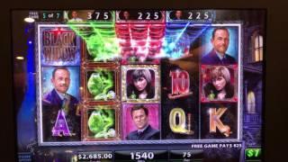 Bonus win with Mega Jackpot on the Black Widow $$$