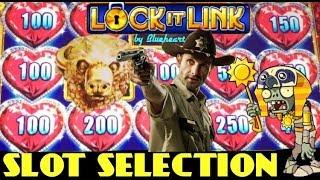 LOCK IT LINK- BUFFALO GOLD slot machine and MORE SLOT BONUS WINS!