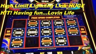 Lightning Link HIGH LIMIT With an Exciting Bonus -