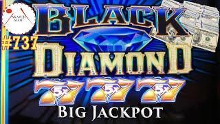 High Limit Big Handpay Jackpot - Black Diamond Slot Max Bet $27/ 9 Line Live Play 赤富士スロット,  勝利の女神降臨