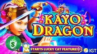 ++NEW Kayo Dragon slot machine, 3 DBG Sessions