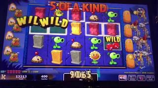 Plants VS Zombies 3D Slot Machine -- Max Bet Bonus -- Free Games