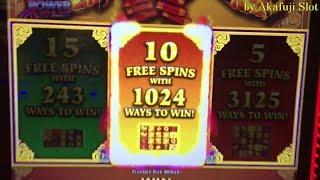 $291 Free Play•New Year New Wishes 5c Slot, Fu Nan Fu Nu Slot, San Manuel Casino, Akafujislot